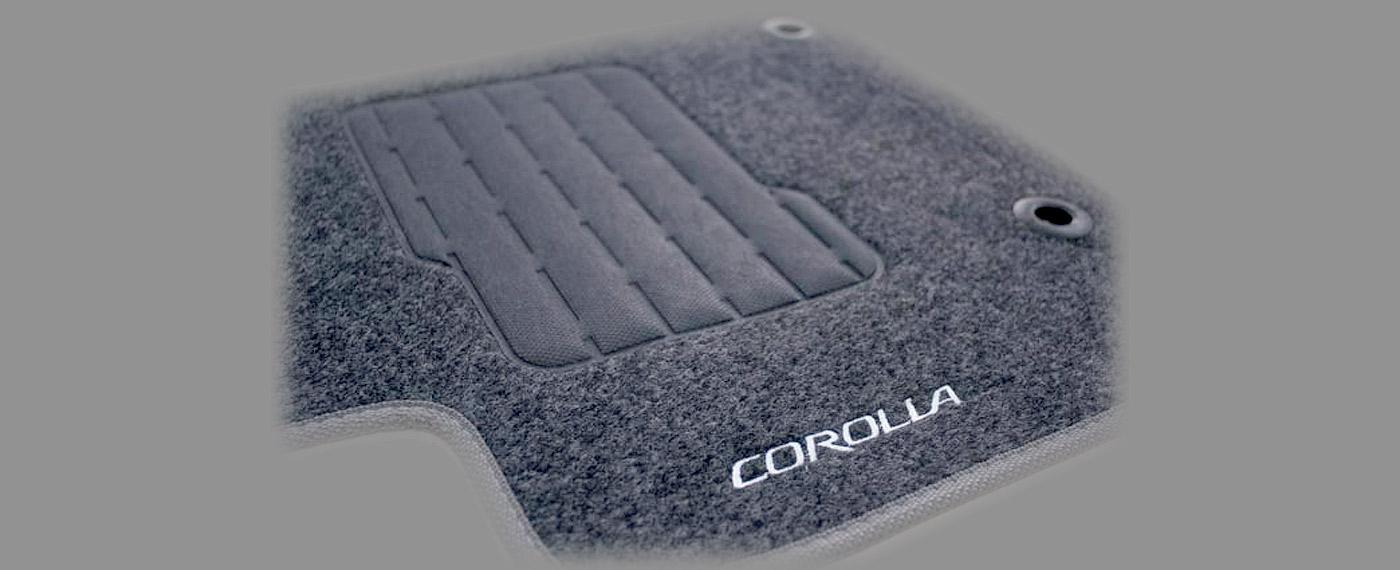 Tapete de carpete personalizado - Corolla